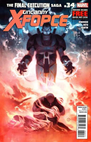 Uncanny X-Force #34 comic books - cover scans photos Uncanny X-Force #34 comic books - covers, picture gallery