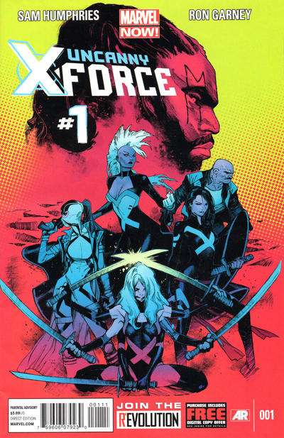 Uncanny X-Force Comic Books. Uncanny X-Force Comics.