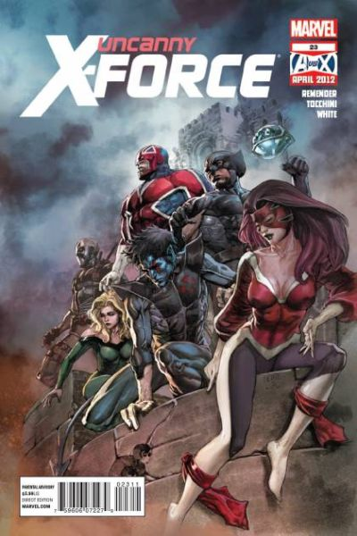 Uncanny X-Force #23 comic books for sale