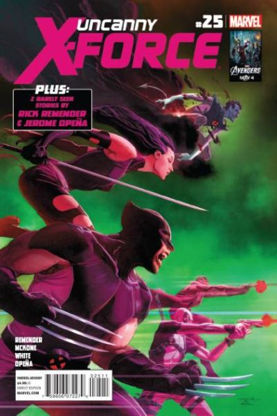 Uncanny X-Force #24 comic books for sale