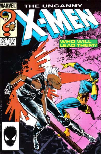 Uncanny X-Men #201 Comic Books - Covers, Scans, Photos  in Uncanny X-Men Comic Books - Covers, Scans, Gallery