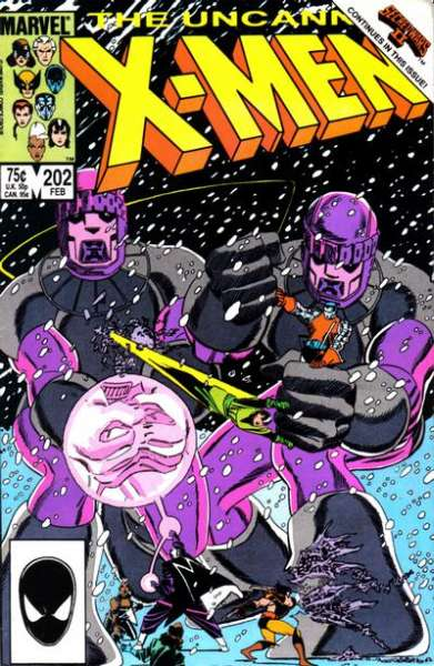 Uncanny X-Men #202 Comic Books - Covers, Scans, Photos  in Uncanny X-Men Comic Books - Covers, Scans, Gallery