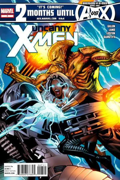 Uncanny X-Men #7 comic books for sale