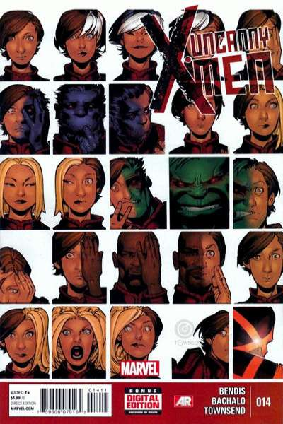 Uncanny X-Men #14 comic books - cover scans photos Uncanny X-Men #14 comic books - covers, picture gallery