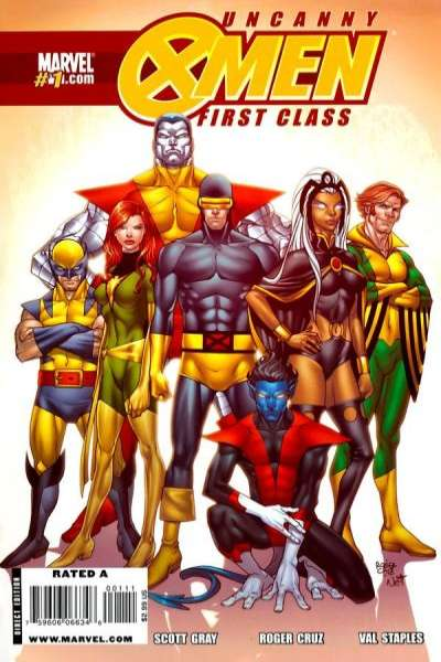 Uncanny X-Men: First Class #1 Comic Books - Covers, Scans, Photos  in Uncanny X-Men: First Class Comic Books - Covers, Scans, Gallery