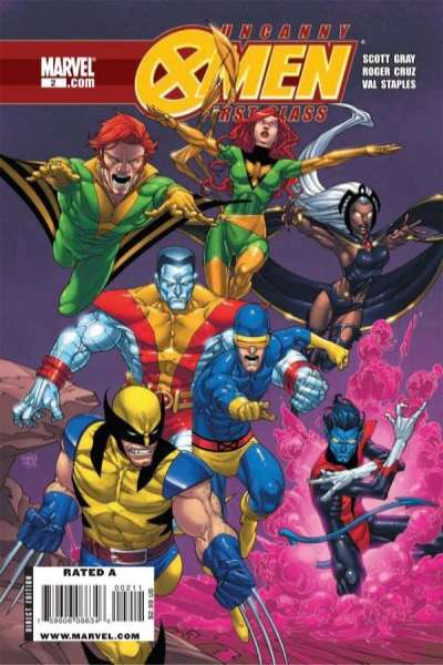 Uncanny X-Men: First Class #2 Comic Books - Covers, Scans, Photos  in Uncanny X-Men: First Class Comic Books - Covers, Scans, Gallery