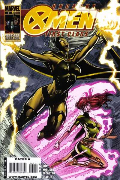 Uncanny X-Men: First Class #6 Comic Books - Covers, Scans, Photos  in Uncanny X-Men: First Class Comic Books - Covers, Scans, Gallery