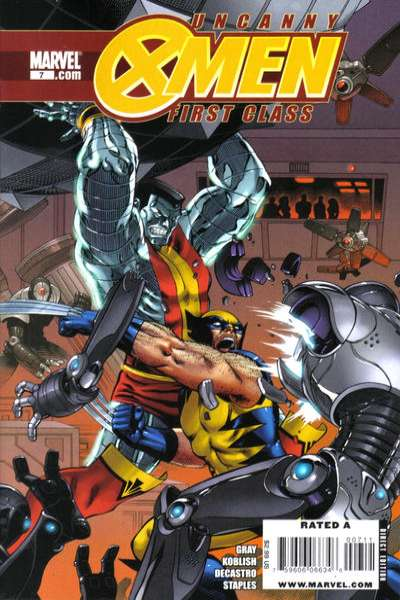 Uncanny X-Men: First Class #7 Comic Books - Covers, Scans, Photos  in Uncanny X-Men: First Class Comic Books - Covers, Scans, Gallery