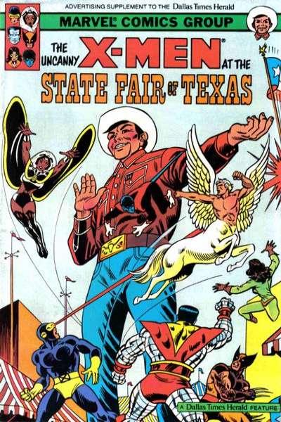Uncanny X-Men at the State Fair of Texas comic books