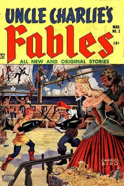 Uncle Charlie's Fables #2 comic books - cover scans photos Uncle Charlie's Fables #2 comic books - covers, picture gallery