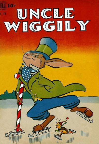 Uncle Wiggly comic books