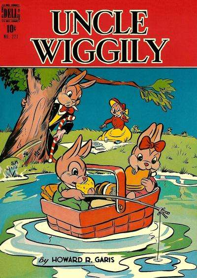 Uncle Wiggly #2 Comic Books - Covers, Scans, Photos  in Uncle Wiggly Comic Books - Covers, Scans, Gallery