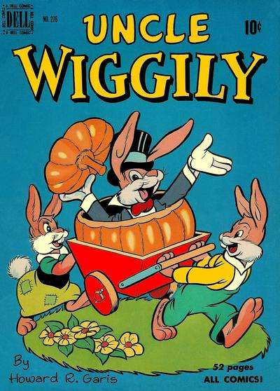 Uncle Wiggly #3 comic books for sale