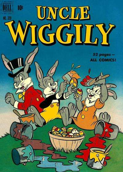 Uncle Wiggly #4 Comic Books - Covers, Scans, Photos  in Uncle Wiggly Comic Books - Covers, Scans, Gallery