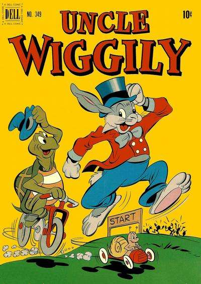 Uncle Wiggly #5 Comic Books - Covers, Scans, Photos  in Uncle Wiggly Comic Books - Covers, Scans, Gallery