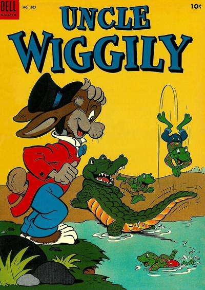 Uncle Wiggly #8 comic books - cover scans photos Uncle Wiggly #8 comic books - covers, picture gallery