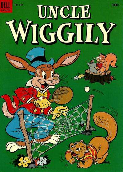 Uncle Wiggly #9 Comic Books - Covers, Scans, Photos  in Uncle Wiggly Comic Books - Covers, Scans, Gallery