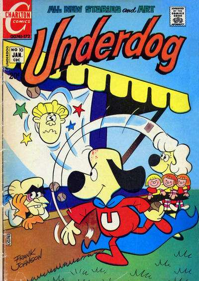 Underdog #10 comic books for sale