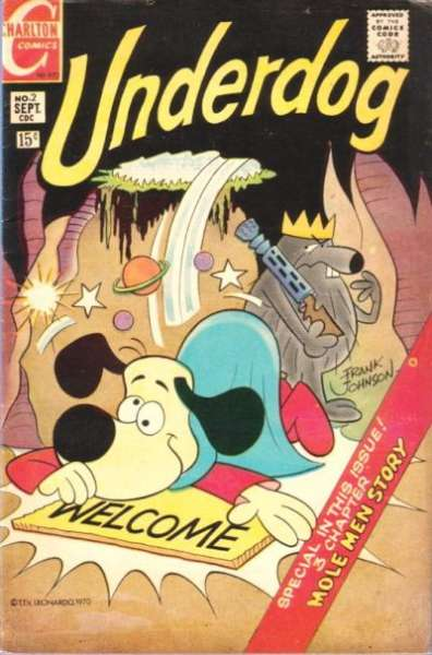 Underdog #2 Comic Books - Covers, Scans, Photos  in Underdog Comic Books - Covers, Scans, Gallery