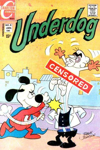 Underdog #4 Comic Books - Covers, Scans, Photos  in Underdog Comic Books - Covers, Scans, Gallery