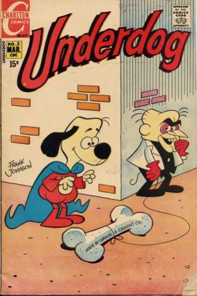 Underdog #5 Comic Books - Covers, Scans, Photos  in Underdog Comic Books - Covers, Scans, Gallery