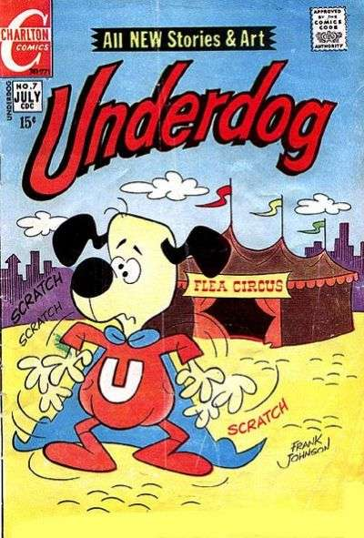 Underdog #7 Comic Books - Covers, Scans, Photos  in Underdog Comic Books - Covers, Scans, Gallery