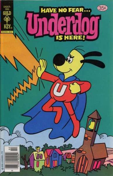 Underdog #23 Comic Books - Covers, Scans, Photos  in Underdog Comic Books - Covers, Scans, Gallery