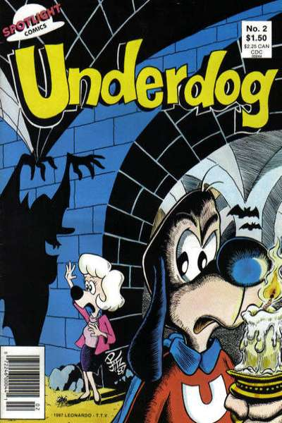 Underdog #2 comic books for sale