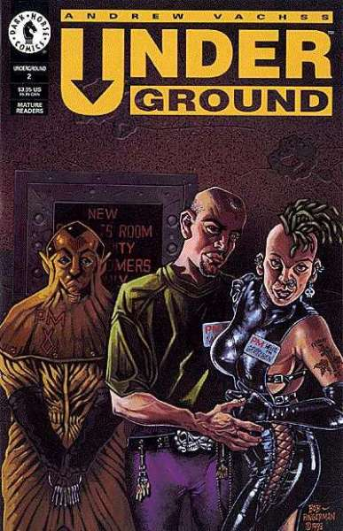 Underground #2 comic books for sale