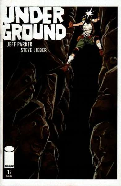 Underground #1 comic books - cover scans photos Underground #1 comic books - covers, picture gallery
