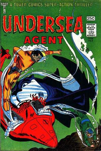 Undersea Agent #3 Comic Books - Covers, Scans, Photos  in Undersea Agent Comic Books - Covers, Scans, Gallery