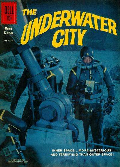 Underwater City Comic Books. Underwater City Comics.