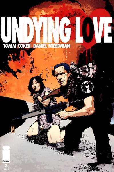 Undying Love #3 comic books for sale