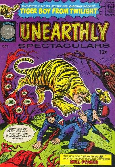 Unearthly Spectaculars comic books