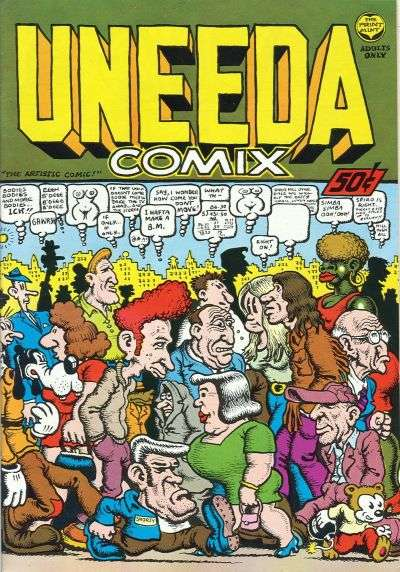 Uneeda Comix #1 comic books - cover scans photos Uneeda Comix #1 comic books - covers, picture gallery