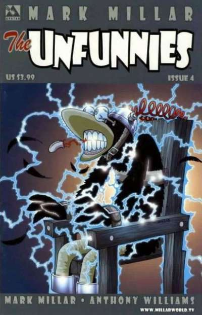 Unfunnies #4 comic books for sale