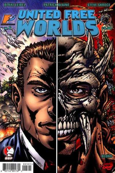 United Free Worlds #5 comic books - cover scans photos United Free Worlds #5 comic books - covers, picture gallery
