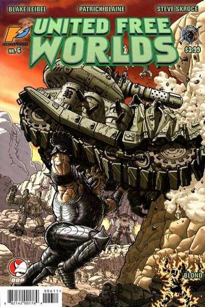 United Free Worlds #6 comic books - cover scans photos United Free Worlds #6 comic books - covers, picture gallery