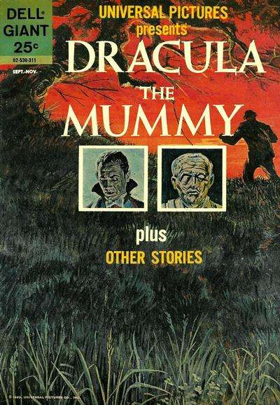 Universal Pictures Presents Dracula the Mummy and Other Stories #1 Comic Books - Covers, Scans, Photos  in Universal Pictures Presents Dracula the Mummy and Other Stories Comic Books - Covers, Scans, Gallery