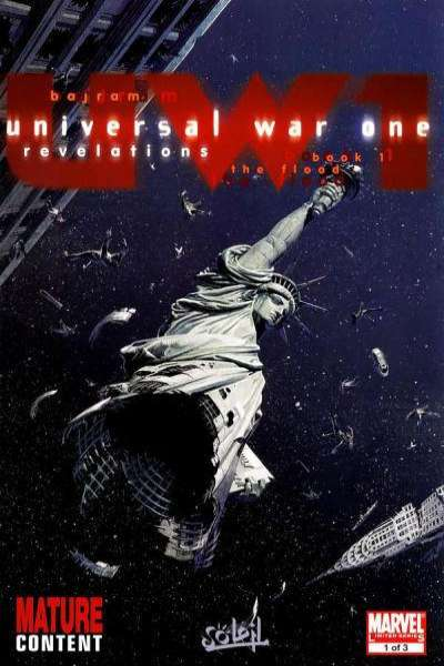 Universal War One: Revelations comic books
