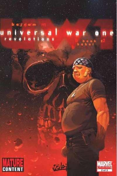 Universal War One: Revelations #2 comic books for sale