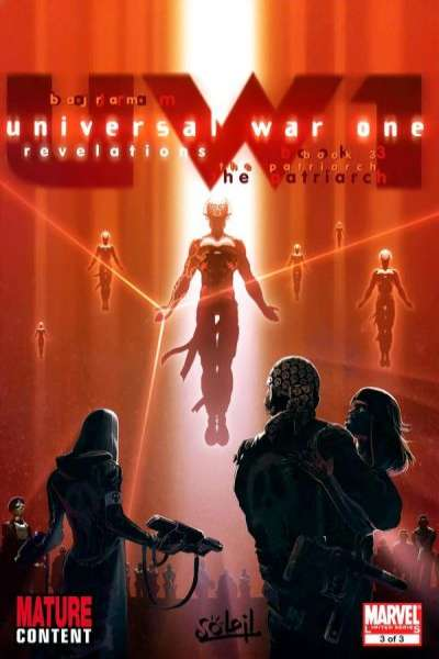 Universal War One: Revelations #3 comic books for sale