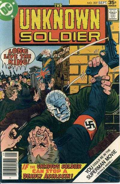 Unknown Soldier #207 comic books - cover scans photos Unknown Soldier #207 comic books - covers, picture gallery
