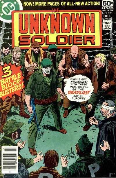 Unknown Soldier #220 Comic Books - Covers, Scans, Photos  in Unknown Soldier Comic Books - Covers, Scans, Gallery