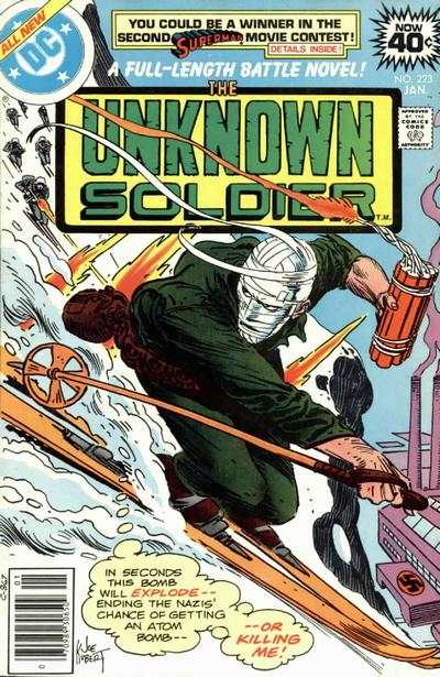 Unknown Soldier #223 Comic Books - Covers, Scans, Photos  in Unknown Soldier Comic Books - Covers, Scans, Gallery
