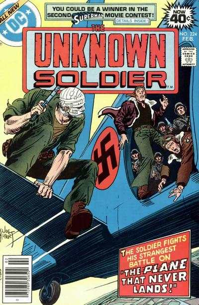 Unknown Soldier #224 comic books - cover scans photos Unknown Soldier #224 comic books - covers, picture gallery