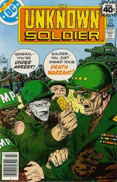Unknown Soldier #225 comic books for sale