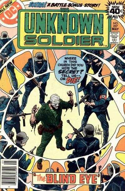 Unknown Soldier #227 Comic Books - Covers, Scans, Photos  in Unknown Soldier Comic Books - Covers, Scans, Gallery
