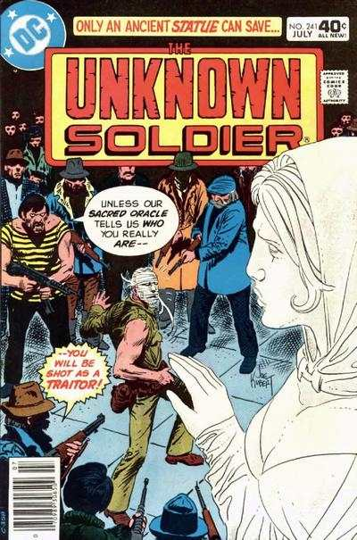 Unknown Soldier #241 comic books - cover scans photos Unknown Soldier #241 comic books - covers, picture gallery