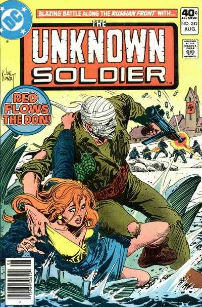 Unknown Soldier #242 comic books - cover scans photos Unknown Soldier #242 comic books - covers, picture gallery